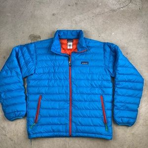 Men's Patagonia Goose Down Puff Jacket - Flaws